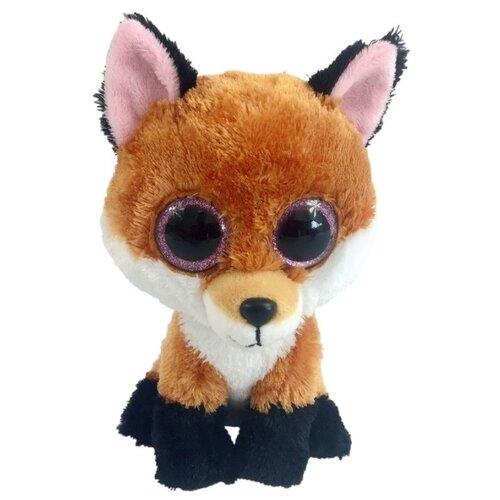 Купить Мягкая игрушка Yangzhou Kingstone Toys Лисичка коричневая 15 см, Мягкие игрушки