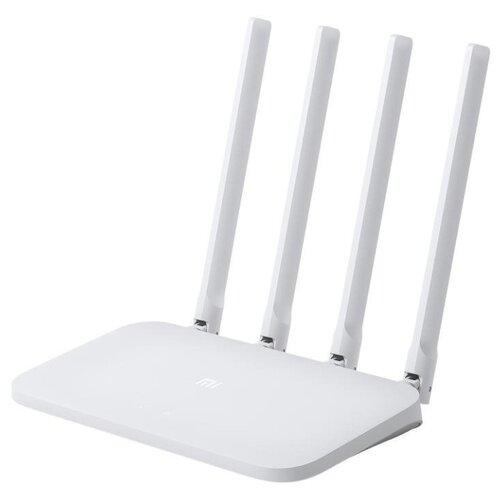 Wi-Fi роутер Xiaomi Mi Wi-Fi Router 4C белый wi fi роутер xiaomi mi wifi router 4c