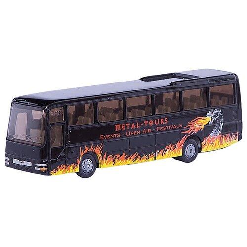 Купить Автобус Siku туристический (1624) 1:87 29.5 см черный, Машинки и техника