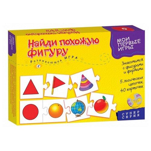 Купить Настольная игра Дрофа-Медиа МПИ. Найди похожую фигуру, Настольные игры