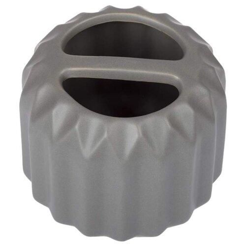 Стакан для зубных щеток HAUSMANN HM-B0194Y-1/2/3/4 антрацитМыльницы, стаканы и дозаторы<br>