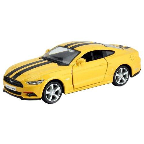 Купить Легковой автомобиль RMZ City Ford Mustang 2015 (554029C) 1:32 127 см желтый, Машинки и техника