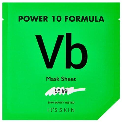 ItS SKIN Тканевая маска для проблемной кожи Power 10 Formula Mask Sheet Vb, 25 млДля проблемной кожи<br>