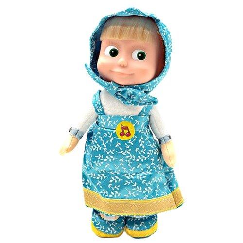 Купить Интерактивная кукла Мульти-Пульти Маша в голубом сарафане, 29 см, V86121/30B, Куклы и пупсы
