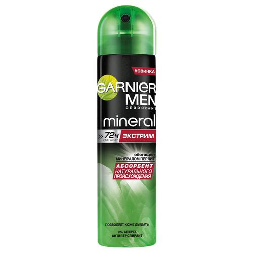 Дезодорант-антиперспирант спрей Garnier Men Mineral Экстрим, 150 мл дезодорант garnier men mineral