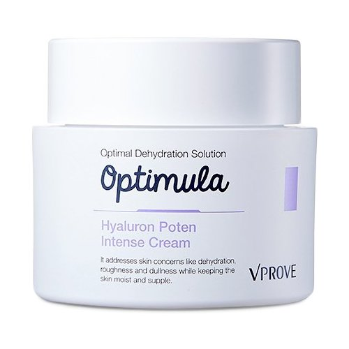 VPROVE Optimula Hyaluron Poten Intense Cream Увлажняющий крем для лица, 50 мл academie intense protection cream суперзащитный крем для лица 50 мл
