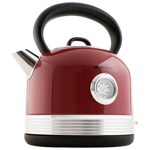 Чайник Kitfort KT-634-2, красный