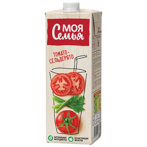 Напиток сокосодержащий Моя Семья Томато-Сельдерято, 0.95 лСоки, нектары, морсы<br>