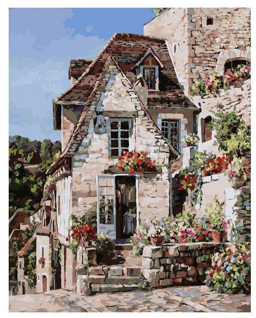 """Белоснежка Картина по номерам """"Франция.Ракамадур"""" 40х50 см (212-AB)"""
