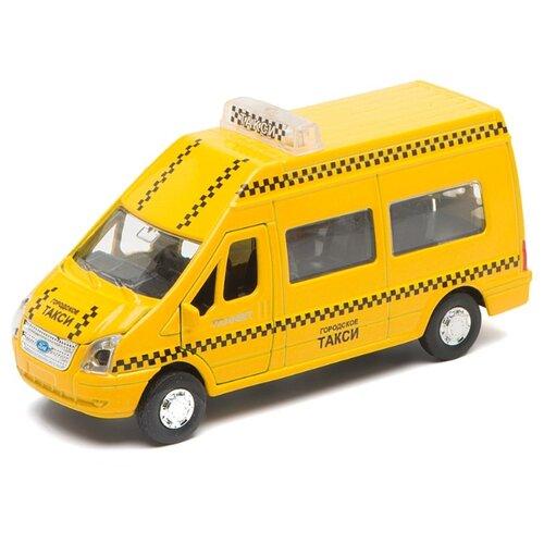 Фото - Микроавтобус ТЕХНОПАРК Ford Transit Такси (SB-13-02-4) 1:43 желтый sb 13 02 1