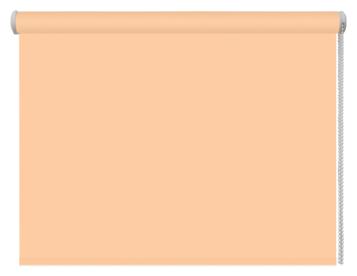 Рулонная штора DDA Универсальная однотонная (персиковый), 100х160 см