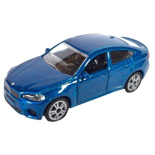Легковой автомобиль Siku BMW X6 M (1409) 1:50 синий/голубой