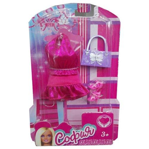 Фото - Карапуз Одежда для кукол София 29см 66243-2-S-BB розовый одежда для кукол china б02