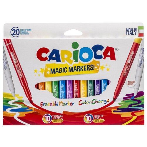 Купить Carioca Фломастеры Magic Markers 20 шт. (41369)