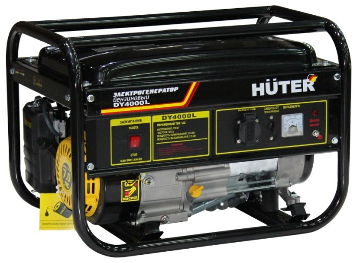 Бензиновая электростанция Huter DY4000L