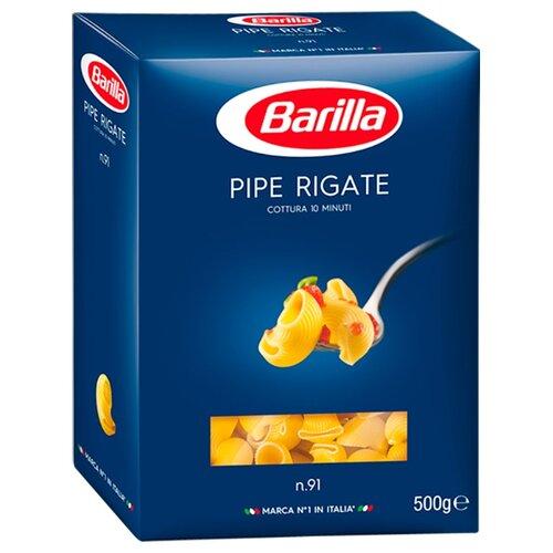 Barilla Макароны Pipe Rigate n.91, 500 г