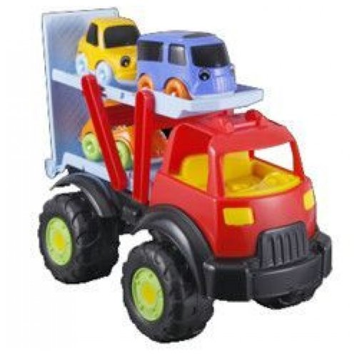 Купить Набор машин pilsan Power для Tombik (06-512) красный/голубой, Машинки и техника