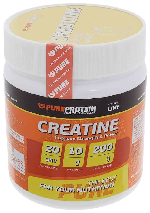 Creatine (200 г), Pureprotein, Апельсин