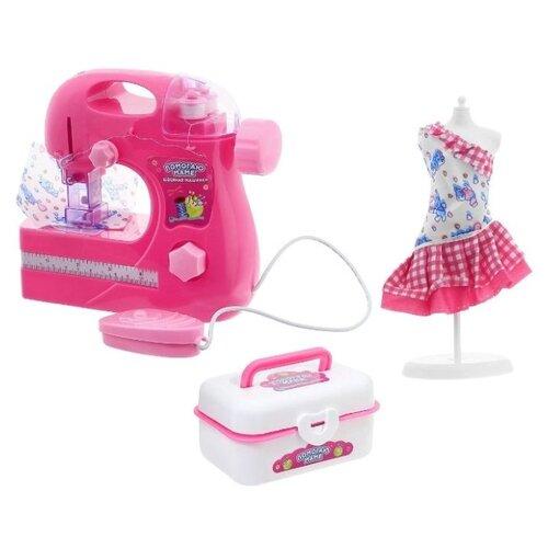 Игровой набор ABtoys Помогаю маме PT-00545(WK-B8043) розовый/белый утюг abtoys помогаю маме pt 00575 белый
