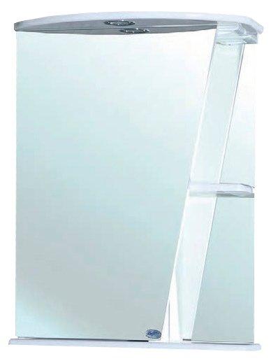 Зеркало Bellezza Бриз 55х72см белый, левый без рамы