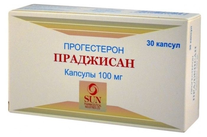 Праджисан капс. 100 мг №30