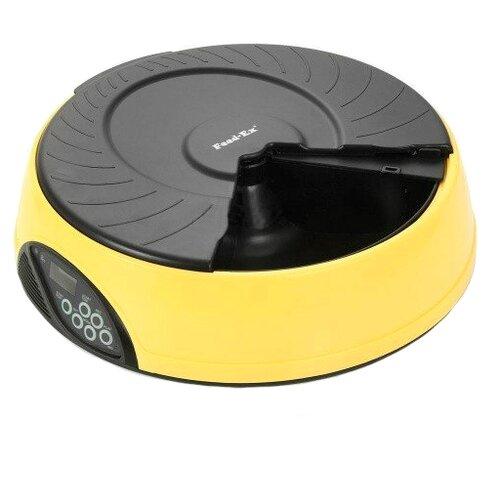 Автокормушка Feed-Ex для кошек и собак PF2 2 л желтый/черный туалет feed ex мульти кэт lk2