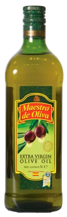 Maestro De Oliva Масло оливковое extra virgin, стеклянная бутылка 0.25 л