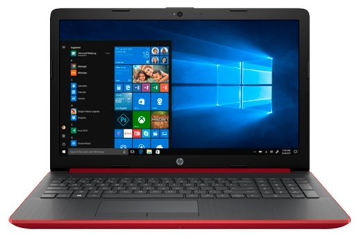 Ноутбук HP 15-da0133ur (4JZ70EA) красный