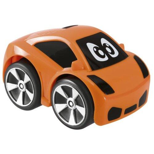 Купить Машинка Chicco Turbo Touch Oliver (00009364000000) 9 см оранжевый, Машинки и техника