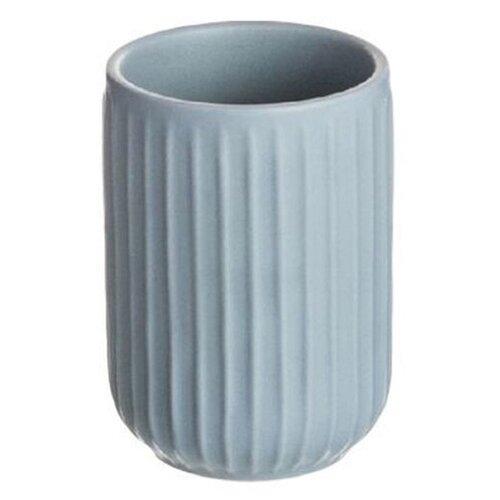 Стакан для зубных щеток D'casa Manhattan синий стакан
