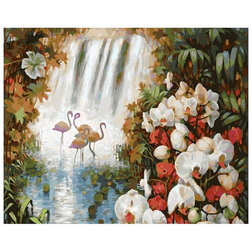Купить Белоснежка Картина по номерам Райский сад 40х50 см (188-AB), Картины по номерам и контурам