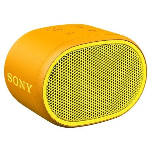 цена на Портативная акустика Sony SRS-XB01 желтый