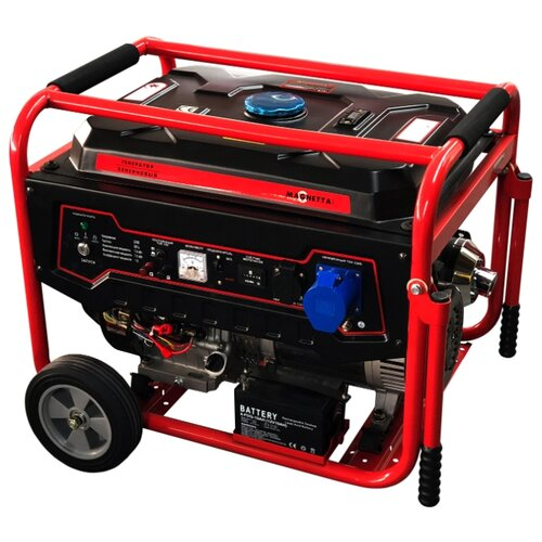 Бензиновый генератор Magnetta GFE9000 (7000 Вт)