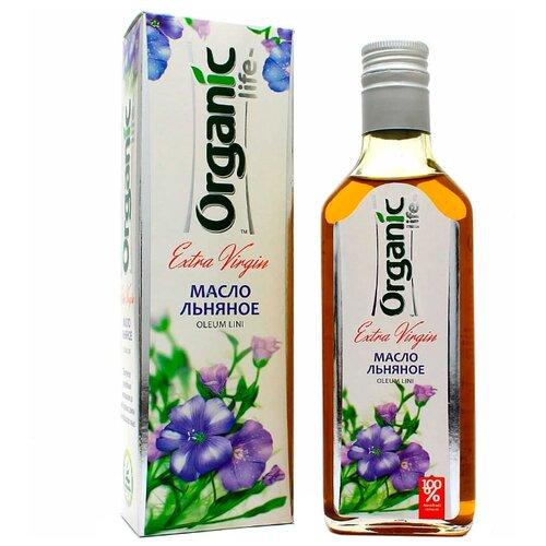 Organic Life Масло льняное 0.25 л