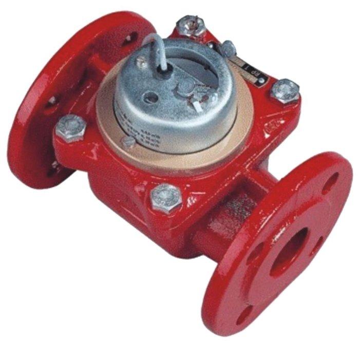 Счётчик горячей воды Тепловодомер ВСТН-150 импульсный