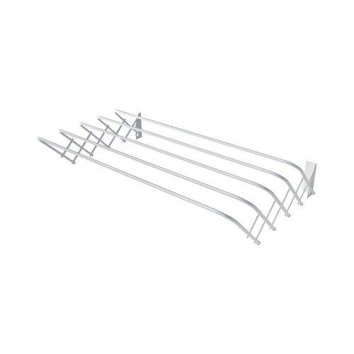 Сушилка для белья Лиана настенная раздвижная 0,8 м