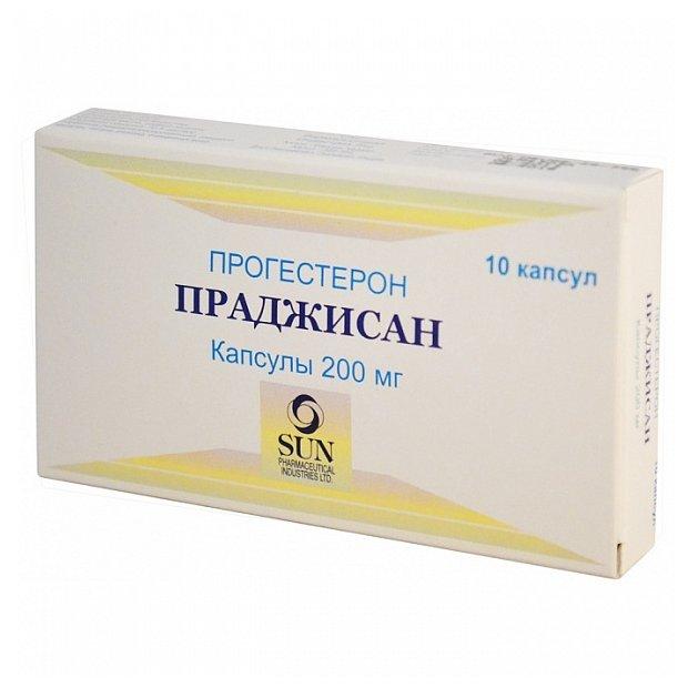 Праджисан капс. 200 мг №10
