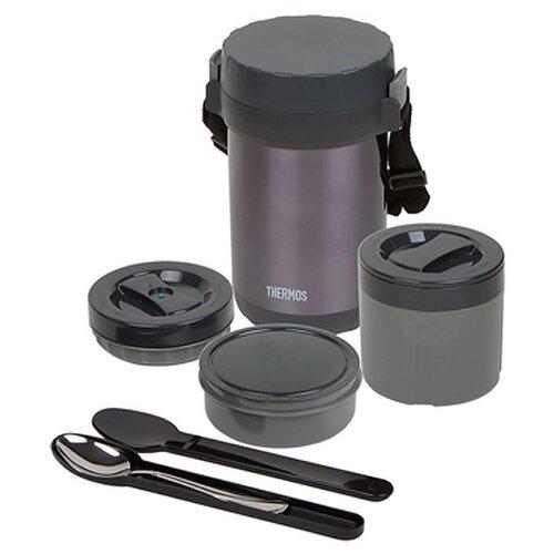 Фото - Термос для еды Thermos JBG-1800 (1,8 л) черный термос 1 2 л thermos king sk2010 черный 712608