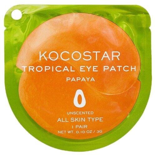 Kocostar Гидрогелевые патчи для глаз Tropical Eye Patch Papaya (2 шт.) недорого