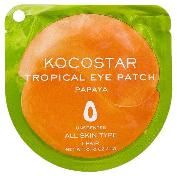 Kocostar Гидрогелевые патчи для глаз Tropical