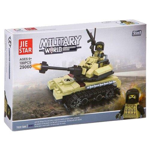 Конструктор Jie Star Military 29060 Танк элемент салона ling jie scirocco oem