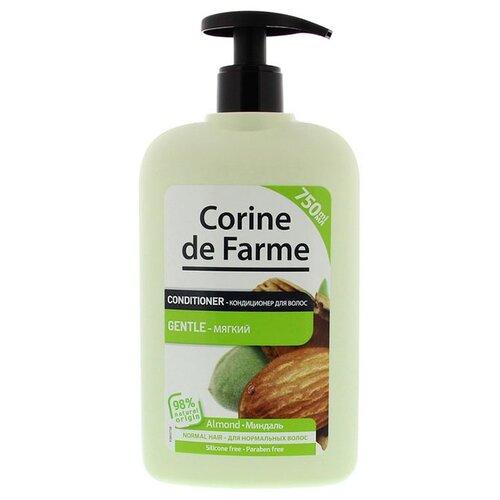 CORINE de FARME Conditioner Gentle Almond бальзам-ополаскиватель мягкий с Миндалем для нормальных волос, 750 млОполаскиватели<br>
