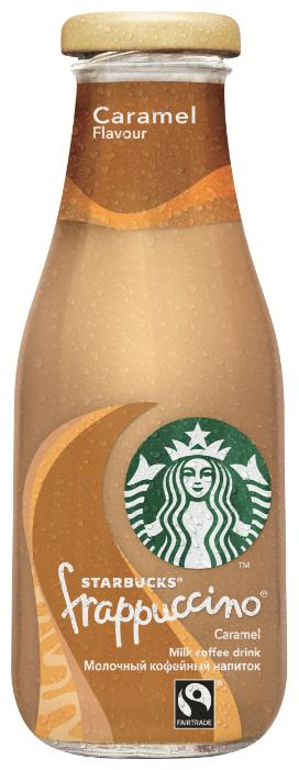 Молочный кофейный напиток Starbucks Frappuccino Caramel 0.25 л