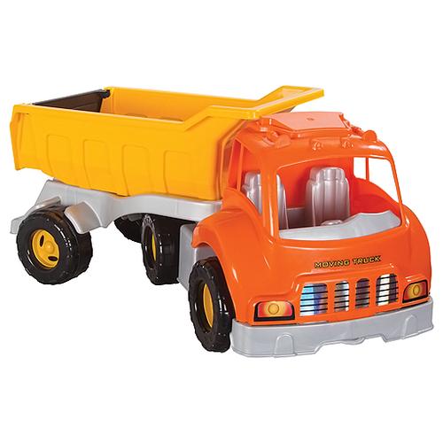 Купить Грузовик pilsan Moving Truck (06-602) 74.5 см желтый/оранжевый, Машинки и техника