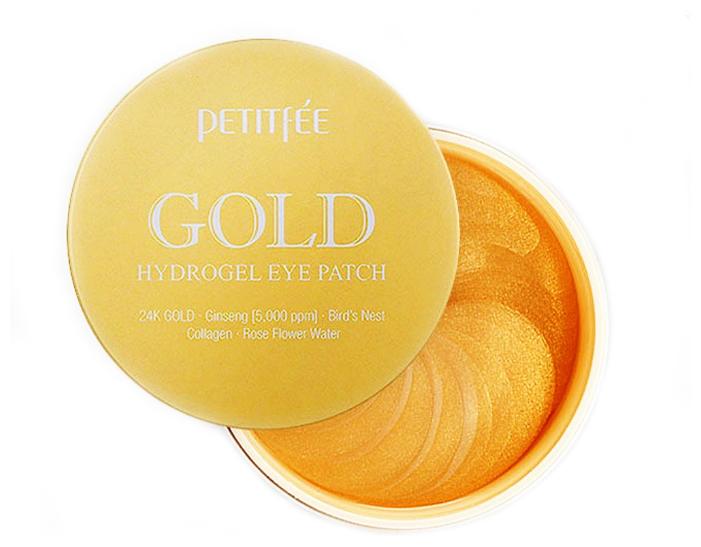 Гидрогелевые патчи для области вокруг глаз Petitfee Gold Hydrogel Eye Patch, 60шт