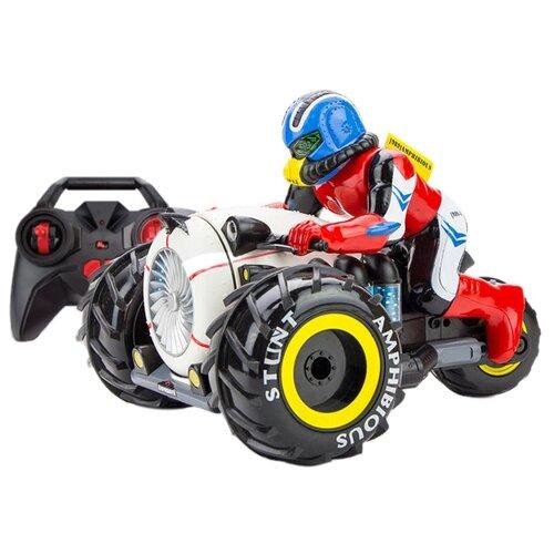 Трицикл Pilotage Stunt Amphibious (RC61156) 25 см белый/черный/красныйРадиоуправляемые игрушки<br>