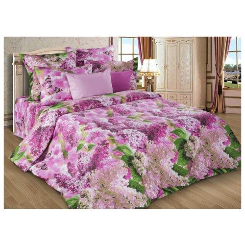Постельное белье 1.5-спальное Диана-Текс Сирень розовая 4257(502) бязь