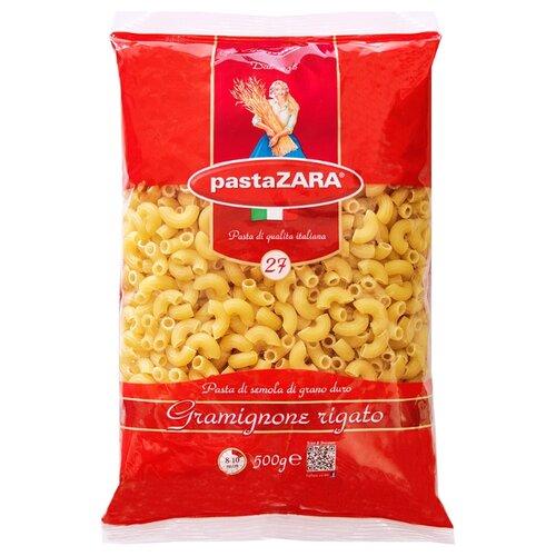 Pasta Zara Макароны 027 Gramignone rigato, 500 гМакароны<br>