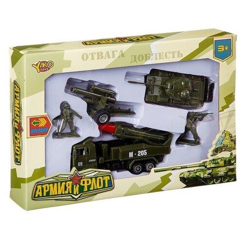 Купить Набор фигурок Yako Армия и флот M7098, Солдатики