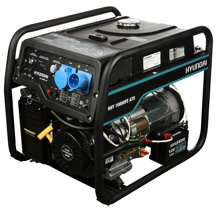 Бензиновый генератор Hyundai HHY 10000FE ATS (7500